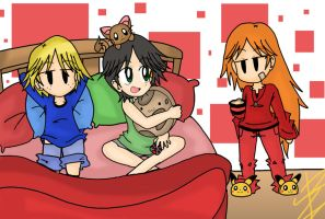 Bedroom Invaders xD by zafireblue