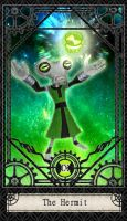 Ben 10 Tarot- 9. The Hermit by CheshireP