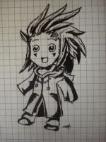 Chibi Axel by twinkelsparky1
