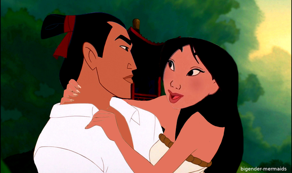 REQUESTED Shang and Mulan by AleahDani