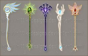 Staff designs 17 by Rittik-Designs