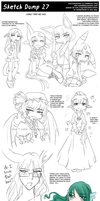Sketch Dump 27 by Ai-Bee