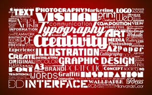 Typographic Red by miel-g
