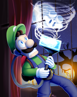 SSB - Luigi by zelc-face