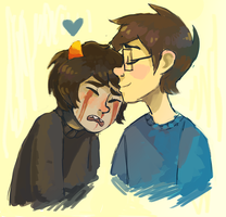 Karkat you are being silly by Atherist