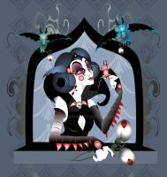 Goth Snow White Done for Now by remdesigns