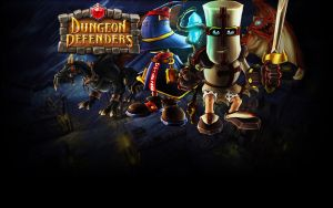 Dungeon Defenders Background by chev327fox