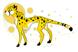 Cheetah Colored by KM-cowgirl