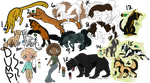 Adoptable Dump- FREE + REDUCED PRICE |OPEN| by Inkk-adopts