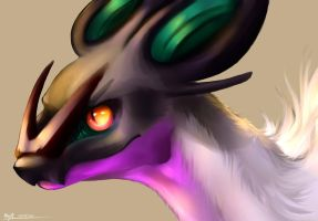 Noivern Headshot by May-Ya