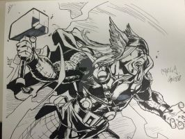 Thor by Drakelb