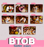 btob folder icons #2 {REQUEST} by stopidd