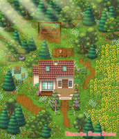 Cottage Garden (RPG Maker Map #2) by CarillonNightmares