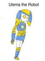 Cleverness Unleashed - Ulema the Robot Girl by Magic-Kristina-KW