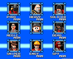 Scoutman Stage Select Menu by AgentMidnight