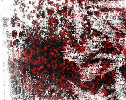 Red-White Text by fantasyh