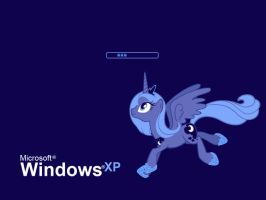 'Luna' bootscreen for Windows XP by 3luk