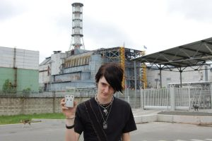 Me in Chernobyl again by RadioactiveKittie