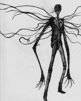 Slenderman by MetolGuy
