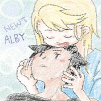 Newt and Alby by sophiaan0