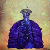 purple dress by christymay26