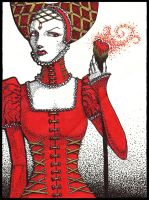 Queen of Hearts by zeloco