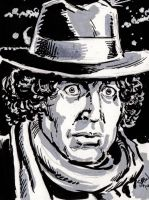 The 4th Doctor by Simon-Williams-Art