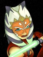 Ahsoka by Lady-Of-The-Pen