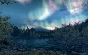 Skyrim Screenshots- Outside the Rift by vincent-is-mine