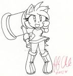 +:Amy Rose:+ Time to Find Sonikku..MY WAY by Jen-C