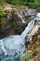 Little Qualicum Falls - Upper Falls 2 by sweetcivic