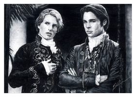 Louis and Lestat by monarchism