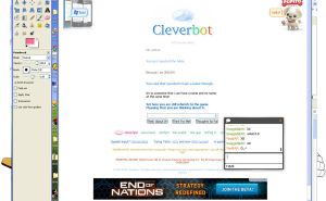 cleverbot.... by sky-commander