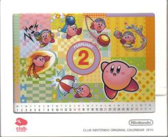 Ninten Calendar February by RUinc
