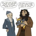 Harry Potter and the Incorrigable Mail Pony by Mazepony