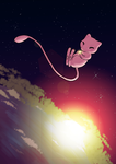 Mew in space by Anolee