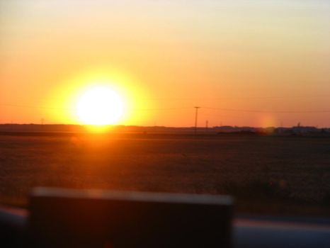 Traditional Sask. Sunrise by Canadianism