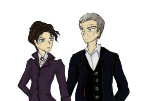Twelve and Missy by Imaginative-spirit