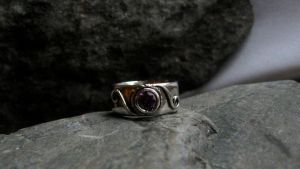 Amethyst ring by Ateip