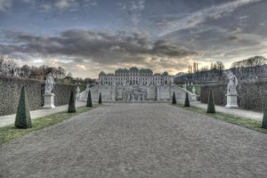 The Belvedere - Vienna by Suckstobeyourgirl