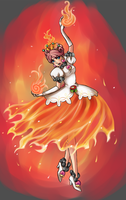 SMB: Fire Flower Marzipan by Pallypie