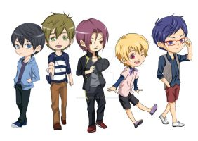 Free Iwatobi Swimming club by HabaraHaruna