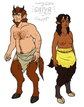Races of LG - Satyr by The-Greys