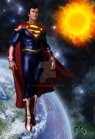 DCU Redesign - Superman by Vadlor