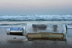 Message in the Bottle by ahermin