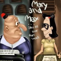 Mary And Max 2 by Janeholiday