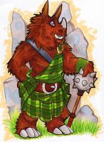 Gart Of The Highlands by shrubrabble