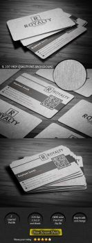 Canvas Business Card by calwincalwin