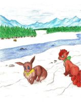 SS Snowy Mountain Mission by eeveelover893