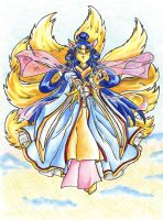 Ninetailed Goddess by lilmiss-sailorenigma